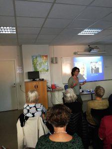 Foredrag med Jacqueline Rousselon